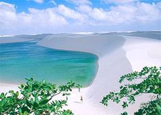 Lencois Maranhenses.  Hundreds of miles of Sand Dunes embedded with beautiful crystal clear salt water lakes!!!