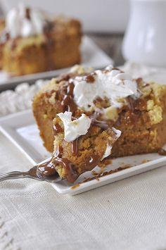 Pumpkin Pie Cake - your homebased mom