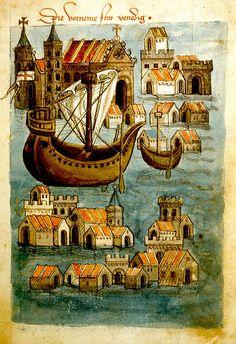 Venice--view of.. German 1467. Egerton 1900. BL