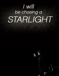 Starlight- the first Muse song I ever heard <3