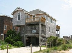 Don't like this one...........................Rest' for your next OBX vacation! 'Sea Rest' has 4 bedrooms including 1 master, 2 full baths, high-speed wireless Internet access, 2 TVs, 2 VCRs and a DVD player,...