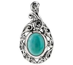 Carolyn Pollack Peruvian Amazonite Sterling Enhancer #SummerBrights