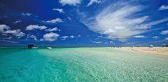 東洋一は沖縄にあった!久米島の青き秘境「ハテの浜」の美しさに驚嘆 1枚目の画像
