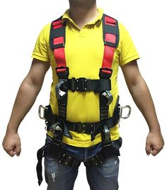 PROFALL HK-5 Düşüş Durdurma ve Konumlandırma Kemeri Sling Backpack, Backpacks, Cable, Camping, Fashion, Cabo, Campsite, Moda, Fashion Styles