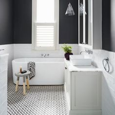 The bathroom, whether shared by the family or an ensuite haven, is often the most overlooked room in the house, but in the midst of winter – when indulgent pampering sessions and long, luxurious baths are a top priority – it pays to make the space that much more attractive.