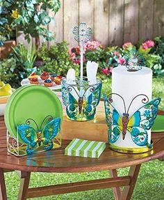 Butterfly Paper Towel Holder Decorative Outdoor Party Accessories Flatware Caddy & Paper Towel Holder, http://www.amazon.com/dp/B00S20QQ0I/ref=cm_sw_r_pi_awdm_lxNSvb06E29J4