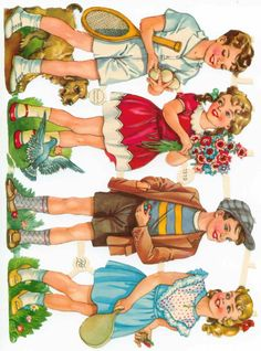 Vintage Cards, Vintage Images, Vintage Pictures, Vintage Paper Dolls, Vintage Cartoon, Angel Art, Baby Kind, Cartoon Pics, Vintage Children