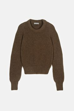 Christophe Lemaire — Rib Sweater Lichen — THE LINE