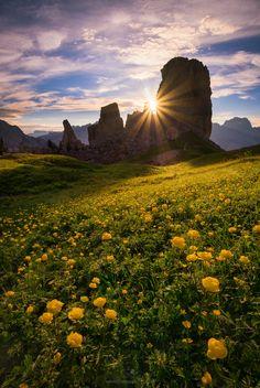 The waiting game  Joshua Cripps   Cinque Torri Dolomites, Italy
