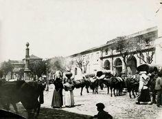 Antiguo mercado en la Plaza de Santo Domingo. Lugo