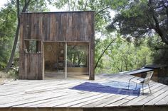 """""""It all began when we were invited to see our friends' cabin in Topanga Canyon,"""" says Mason St. Peter, of how he discovered the Southern California artist"""