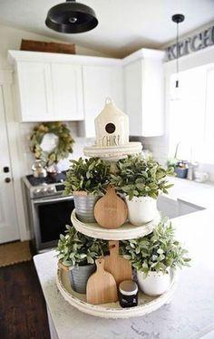 Cool 30 Popular Spring Kitchen Decor Ideas