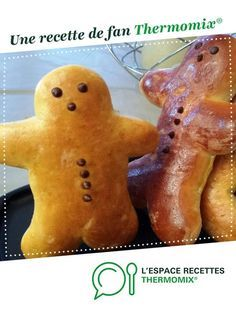 Mannele par Les Délices de Thermomix. Une recette de fan à retrouver dans la catégorie Pains & Viennoiseries sur www.espace-recettes.fr, de Thermomix®.