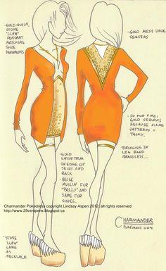 29CentPens - Pokemon inspired dress designs!