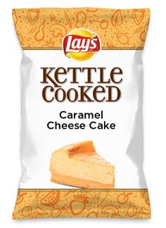 Wouldn't Caramel Cheese Cake be yummy as a chip? Lay's Do Us A Flavor is back, and the search is on for the yummiest chip idea. Create one using your favorite flavors from around the country and you could win $1 million! https://www.dousaflavor.com See Rules.