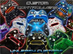 Custom Xbox One Controller Shell Case with by FromUnleashedKicks