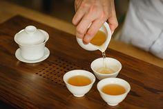 Traditional Gaiwan Tea Ceremony.