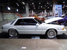 Fox Body Mustang, Ford Mustang Gt, Mustang Cars, Notchback Mustang, Car Ford, Sport Cars, Custom Cars, Cool Cars, Really Cool Stuff