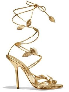 The list: October objects of desire - Emilio Pucci sandal - gold jewelry . - The list: October objects of desire – Emilio Pucci sandal – gold jewelry and accessories for Se - Fancy Shoes, Pretty Shoes, Beautiful Shoes, Cute Shoes, Me Too Shoes, Crazy Shoes, Emilio Pucci, Gold Wedding Shoes, Gold Shoes