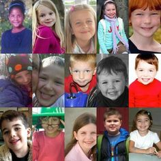 God bless the 26 victims of the Sandy Hook elementary school massacre in Newtown, CT on 12/14/12, including these 20 innocent angels.  #brokenhearted