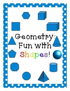 Geometry for 1st grade, CCSS aligned $