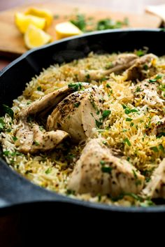 You can make a big deal out of chicken with rice -- at its zenith, it becomes paella -- but it is a dish that takes well to short cuts And even at its simplest, it's a crowd-pleaser For fast weeknight meals, I strip chicken and rice to its essentials: oil, onion, chicken and rice