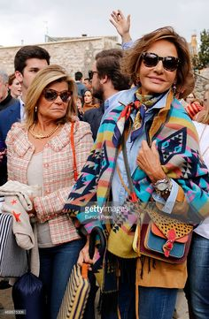Naty Abascal and Cari Lapique attend the traditional Spring... News Photo | Getty Images