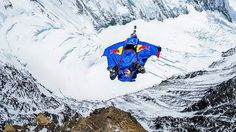 Base Jumping from Mount Everest