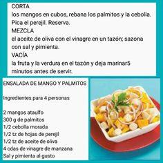 Ensalada de Mango y Palmitos