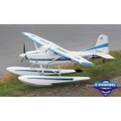 Amazon.com: New Large Scale + Land & Water 4 CH Cessna 185 Aerobatic Radio Remote Control Electric RC Airplane RTF w/ Drop-hinge Wing Flaps + Landing Gears & Pontoon: Toys & Games