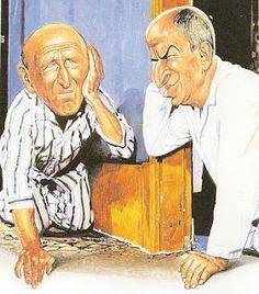 Charles da Costa - Dessinateur Caricaturiste - Louis de Funès et Bourvil - La Grande Vadrouille