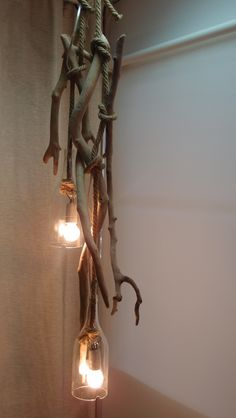 driftwood lamp hanging..τηλ παραγγελιών 6976773699 ..φωτιστικό οροφής από θαλασσόξυλα .οι λάμπες είναι μέσα σε μπουκάλι με κομμένο πάτο… .για επαγγελματικους χώρους μπορεί να εκδοθεί και τιμολόγιο.                                                                                                                                                                                 More