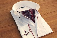 onepiece collar shirts and ascot tie