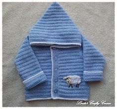.Linda's Crafty Corner: Sweet Little Lamb Hoodie