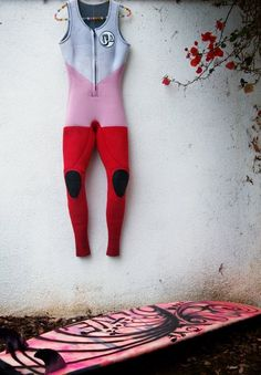 Cool wetsuit! Maybe not so cool for Alaska though.