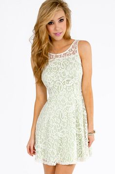 Lianna Lace Skater Dress ~Tobi $26   http://www.tobi.com/product/50190-tobi-lianna-lace-skater-dress?color_id=67203_medium=email_source=new_campaign=2013-04-20