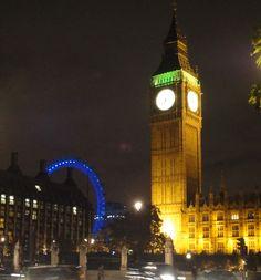 The Eye & Ben at Night