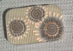 Polymer clay covered gift card tin by MaryAnneLoveless on Etsy, $18.00