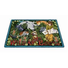 Have to have it. Joy Carpets Wild About Books Kids Area Rug $129.98