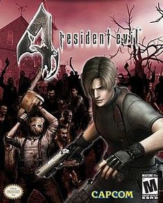 Resident Evil 4.  I used to watch my dad play this game for hours.  A game entertaining enough just to watch. Killing the dead.