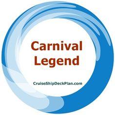 Carnival Legend Cruise Ship Deck Plan COM