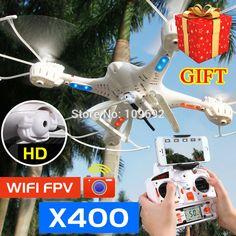 무료 배송 MJX X400 업그레이드 X400-V2 RC 쿼드 콥터 축 드론 2.4 그램 헬리콥터 추가 C4005 와이파이 FPV HD 카메라 VS H8D X600