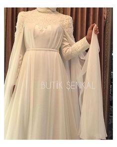 When designing an outfit, we pay attention to what gives mana to most people, Elega . When designing an outfit, we pay attention to what gives mana to most people, elegance . think highly of Muslim Wedding Gown, Muslimah Wedding Dress, Indian Wedding Gowns, Muslim Wedding Dresses, Muslim Dress, Wedding Abaya, Hijab Evening Dress, Hijab Dress Party, Mode Simple