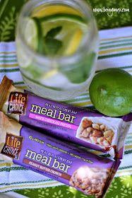 being MVP: Best Nutrition Bars + Fruit Infused Coconut Water {Recipe} #BarNutrition #shop