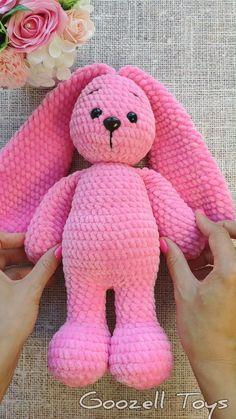 Crochet Bunny Pattern, Crochet Mouse, Crochet Amigurumi, Crochet Bear, Cute Crochet, Animal Knitting Patterns, Stuffed Animal Patterns, Crochet Patterns Amigurumi, Yarn Animals