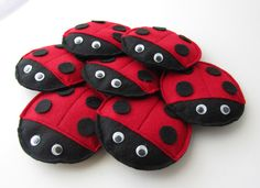 Modern Handmade Child: Create: Ladybug Bean Bags