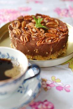 Torta de pannacotta sem carboidratos 1