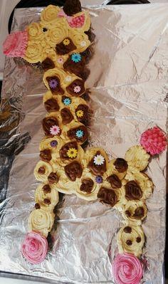 Cupcakes giraffe