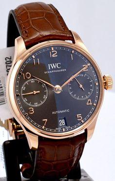 萬國 (IWC) [NEW] Portugieser Automatic IW500702 (Retail:HK$186,000) ~ UNBEATABLE PRICE: HK$126,000.