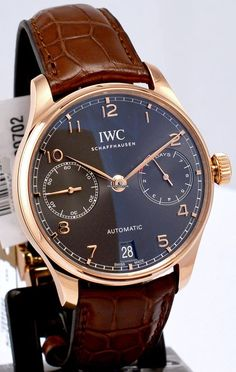 萬國 (IWC) [NEW] Portugieser Automatic IW500702 (Retail:HK$186,000) ~ UNBEATABLE PRICE: HK$126,000.